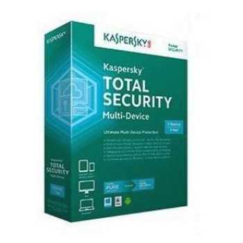Kaspersky Total Security Multi Device 1 Anno 3 Utenti