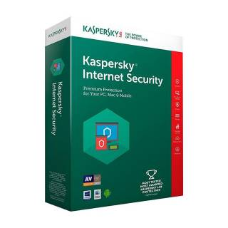 Kaspersky Internet Security 2018 Licenza per 3 Dispositivi per 1 Anno Versione Full