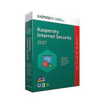 Kaspersky Internet Security 2017 Licenza per 1 Dispositivo per 1 Anno Versione Rinnovo