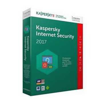 Kaspersky Internet Security 2017 1 anno 1 utenti
