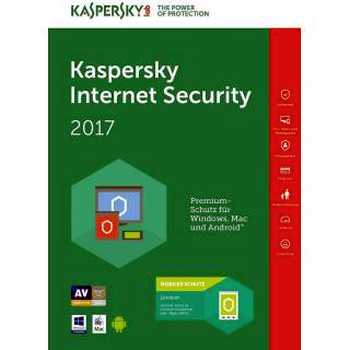 Kaspersky Internet Security 2017 1 anno 5 PC