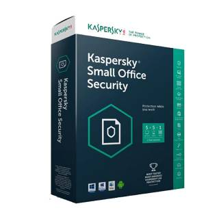 Kaspersky Small Office Security 5.0 Licenza 1 Server / 10 Desktop / 10 Dispositivi per 1 Anno Medialess Versione Full