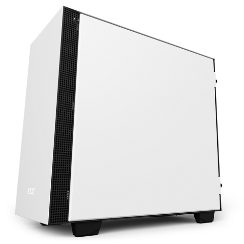 NZXT GAMING CASE H400i MINI ITX E MICRO ATX SMART BIANCO / NERO CA-H400W-WB