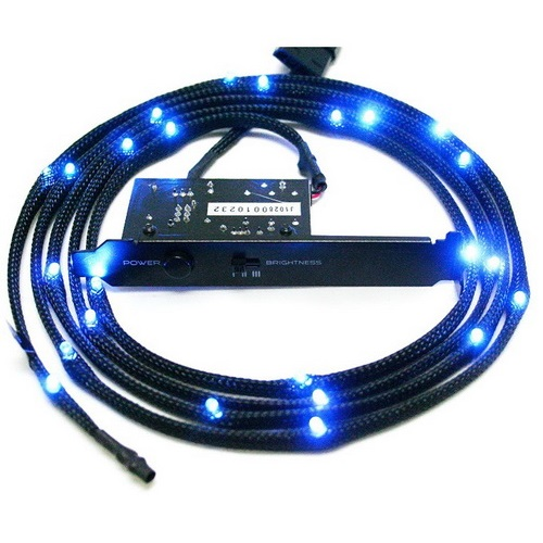 NZXT LIGHTING KIT SLEEVED LED KIT 2m BLU CB-LED20-BU
