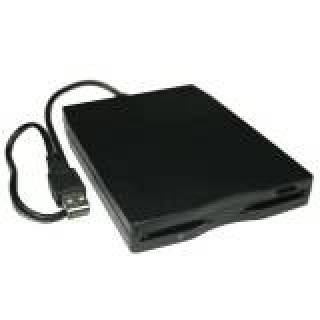 Digitus box esterno USB con Floppy Drive Nero