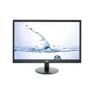 AOC M2470SW Monitor 24 MVA 60Hz 5ms FullHD Multimediale VGA/HDMI Nero