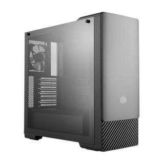 Cooler Master MasterBox E500 Middle Tower Vetro Temperato No-Power mini-ITX/mATX/ATX ODD Nero