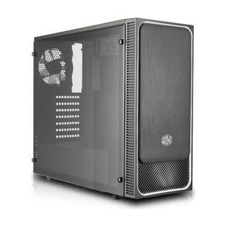 Cooler Master MasterBox E500L Middle Tower No-Power minITX/mATX/ATX ODD Nero/Argento