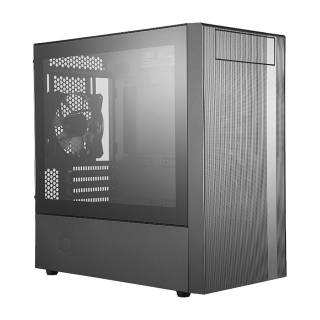 Cooler Master MasterBox NR400 Mini Tower Vetro Temperato No Power MinITX/mATX Nero
