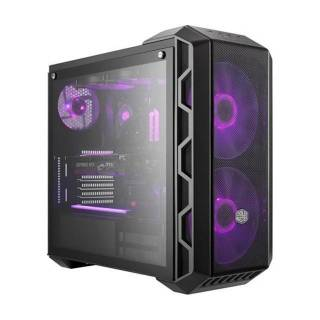 Cooler Master Master Case H500 RGB Middle Tower Vetro Temprato No-Power minITX/mATX/ATX
