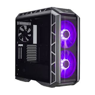 Cooler Master Master Case H500P Middle Tower Paratia Laterale Vetro Temprato No-Power RGB minITX/mATX/ATX/E-ATX