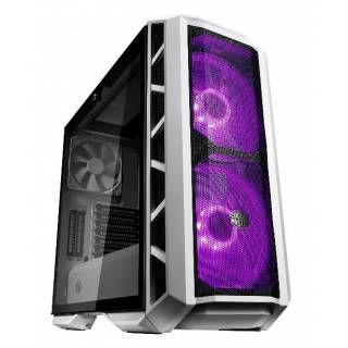 Cooler Master MasterCase H500P Mesh White Middle Tower Vetro Temperato No-Power minITX/mATX/ATX/E-ATX