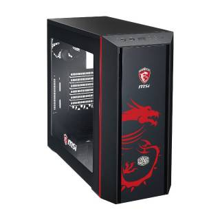 Cooler Master MasterBox 5 MSI Edition Middle Tower No-Power minITX/mATX/ATX Nero/Rosso