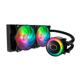 Cooler Master Master Liquid ML240R ARGB CPU Liquid Cooler Intel 1151/2066 AMD AM4/AM3 Nero