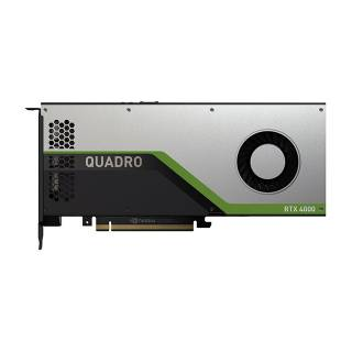 Nvidia Quadro RTX4000 8GB GDDR6 7.1 TFLOPS 3*DP 1*Virtual Link PCi Ex 3.0 16x Bulk