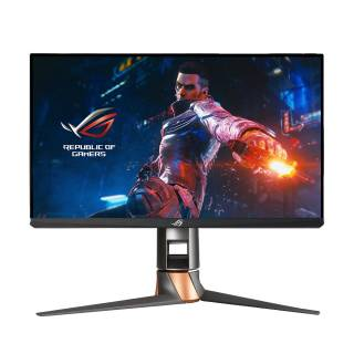 Asus ROG Swift PG259QN Monitor Gaming 24.5 IPS 360Hz FHD 1ms Multimediale Pivot G-Sync USB HDMI/DP