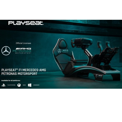PLAYSEAT PRO F1-MERCEDES AMG PETRONAS MOTORSPORT (2 scatole)