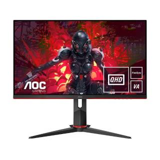 AOC Gaming Q27G2U/BK, 68,6 cm (27), 2560 x 1440 Pixel, Quad HD, LED, 1 ms, Nero