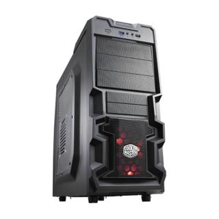 Cooler Master K380 MiddleTower Nero No-Power m-ATX/ATX
