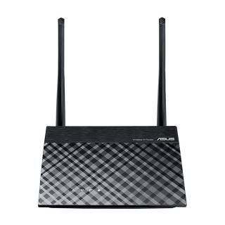 Asus RT-N12E-C Router Ethernet 10/100Mbps 300Mbit/s Nero