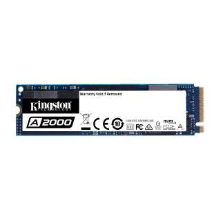 Kingston A2000 SSD 250 B M.2 NVMe 2000/1100 MB/s 3D NAND