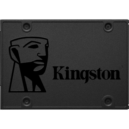 Kingston Technology A400 SSD 120GB, 120 GB, Serial ATA III, 500 MB/s, 320 MB/s, PC/PC portatile, 6 Gbit/s