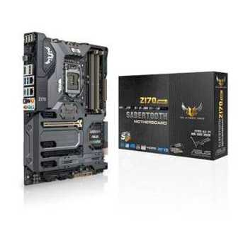 Asus SABERT - Z170 - MK1 Sabertooth Mark 1 Intel Z170 4*DDR4 6*SATAIII HDMI / DP USB 3.1 LGA1151 ATX