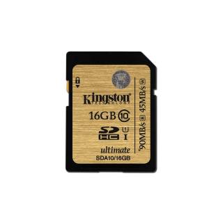 Kingston 16GB UHS Ultimate SDA10/16GB 90/45MB/s Classe 10