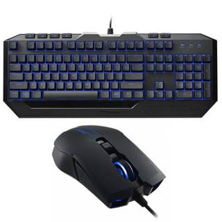 CM Storm SGB-3030-KKMF1 Devastator II Kit tastiera + mouse 2.000 DPI LED Blu tasti multimediali USB Layout IT
