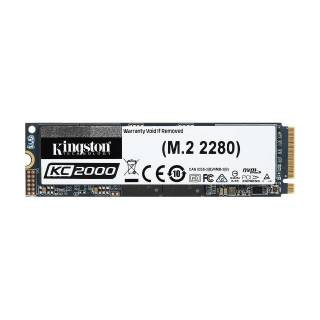 Kingston KC2000 SSD 500GB M.2 NVMe 3000/2000 MB/s 3D TLC