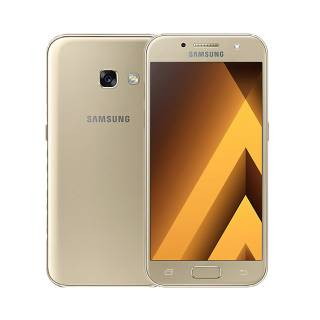 Samsung Galaxy A3 2017 Exynos7870 16GB 4.7'' Super AMOLED 4G 13MP Android 6.0 Gold No Brand