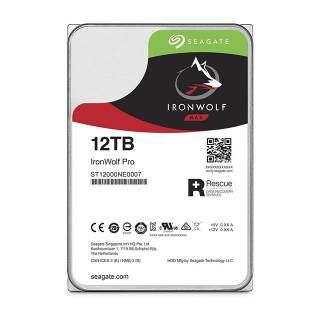 Seagate IronWolf Pro HDD NAS 12TB 256MB 7200rpm SataIII 3.5