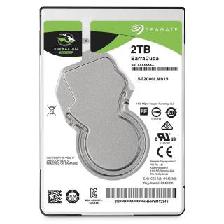 Seagate Barracuda HDD 2TB 128MB 5400rpm SataIII 2.5''