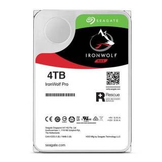 Seagate IronWolf Pro HDD NAS 4TB 128MB 7200rpm SataIII 3.5