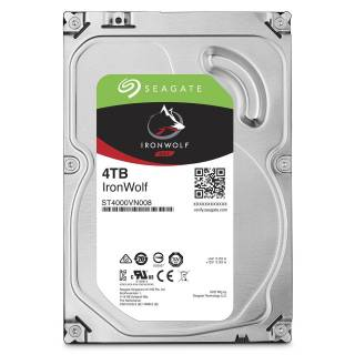 Seagate IronWolf HDD NAS 4TB 64MB 5900rpm SataIII 3.5