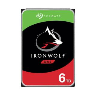 Seagate IronWolf HDD NAS 6TB 256MB 5400rpm 3.5 SataIII