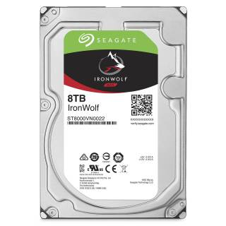 Seagate IronWolf HDD NAS 8TB 128MB 7200rpm SataIII 3.5