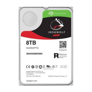 Seagate IronWolf HDD NAS 8TB 256MB 7200rpm SataIII 3.5