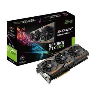 Asus GeForce ROG Strix GTX 1070 8G Gaming 8GB GDDR5 Aura RGB DVI / 2*HDMI / 2*DP PCi Ex 3.0 16x