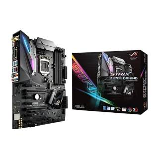 Asus STRIX - Z270E - GAMING Intel Z270 4*DDR4 2*M. 2 6*SATAIII DVI / HDMI / DP Wi - Fi Type - C USB3.1 ATX