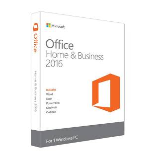 Microsoft Office Home and Business 2016 Medialess 32/64bit
