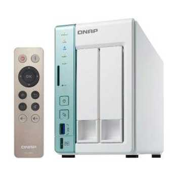 QNAP TS - 251A 2bay Intel N3060 2GB 2*GLAN USB 3.0 Bianco / Verde