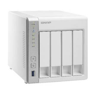 QNAP TS - 431P 4bay 3.5'' AL - 212 1.70Ghz 1GB 2GLAN USB3.0 Bianco