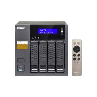 QNAP TS - 453A - 4G 4bay 3.5'' Intel Celeron N3150 1.6Ghz 4GB DDR3 4*GLAN USB 3.0