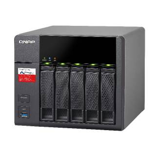 QNAP TS - 531P - 2G NAS 5*bay 3.5'' Cortex A15 Quad Core 1.4GHz 2GB DDR3 4*GLAN