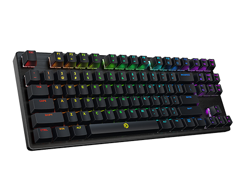 DREVO Tyrfing V2 88Key RGB Wired Outemu Blue Switch Black IT Layout