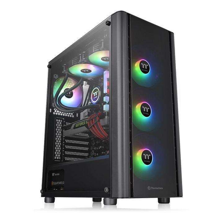 Thermaltake Case Middle Tower V250 TG ARGB 3*120mm FAN