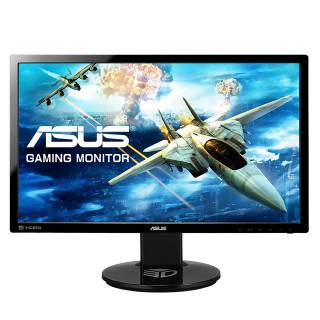 ASUS VG248QE 24'' TN Wide FullHD 1920x1080 1ms 3D Pivot Multimediale DVI / HDMI / DP Nero
