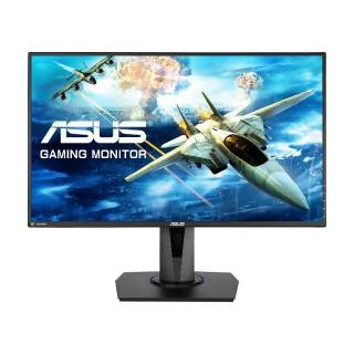 Asus VG275Q Monitor 27 TN 75Hz FullHD 1ms Multimediale Pivot VGA/HDMI/DP Nero