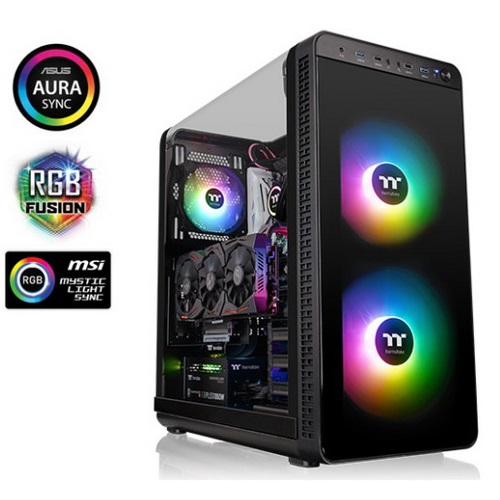 Thermaltake Case Middle TowerOWER VIEW 37 ARGB EDITION